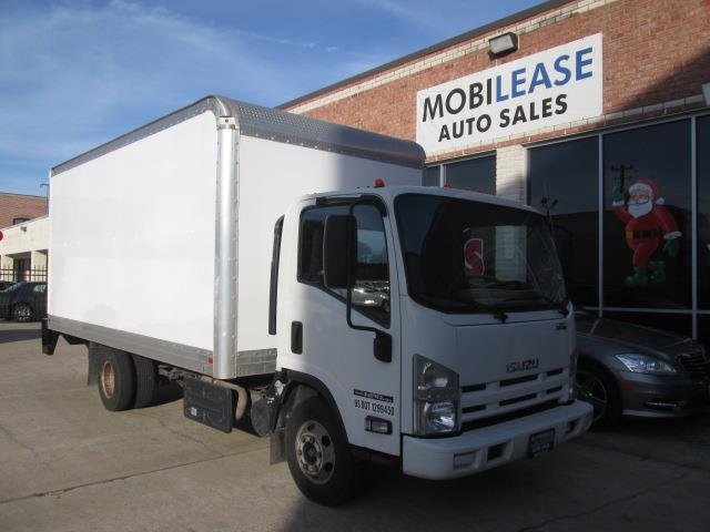 2012 Isuzu NPR 16 Ft. Diesel Box Truck for sale in Houston TX