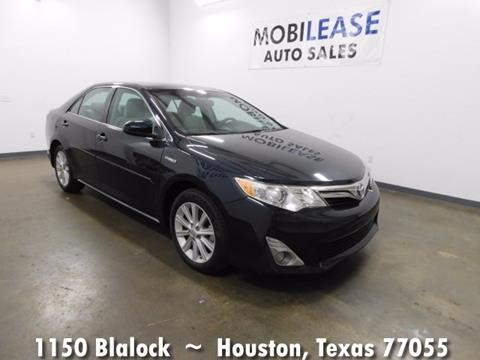 2014 Toyota Camry Hybrid for sale in Houston, TX
