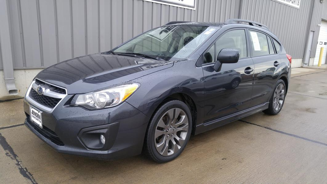 2014 subaru impreza awd sport premium 4dr wagon cvt in le mars ia jensen 39 s used cars. Black Bedroom Furniture Sets. Home Design Ideas