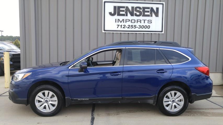 2016 subaru outback awd premium 4dr wagon in le mars ia jensen 39 s used cars. Black Bedroom Furniture Sets. Home Design Ideas