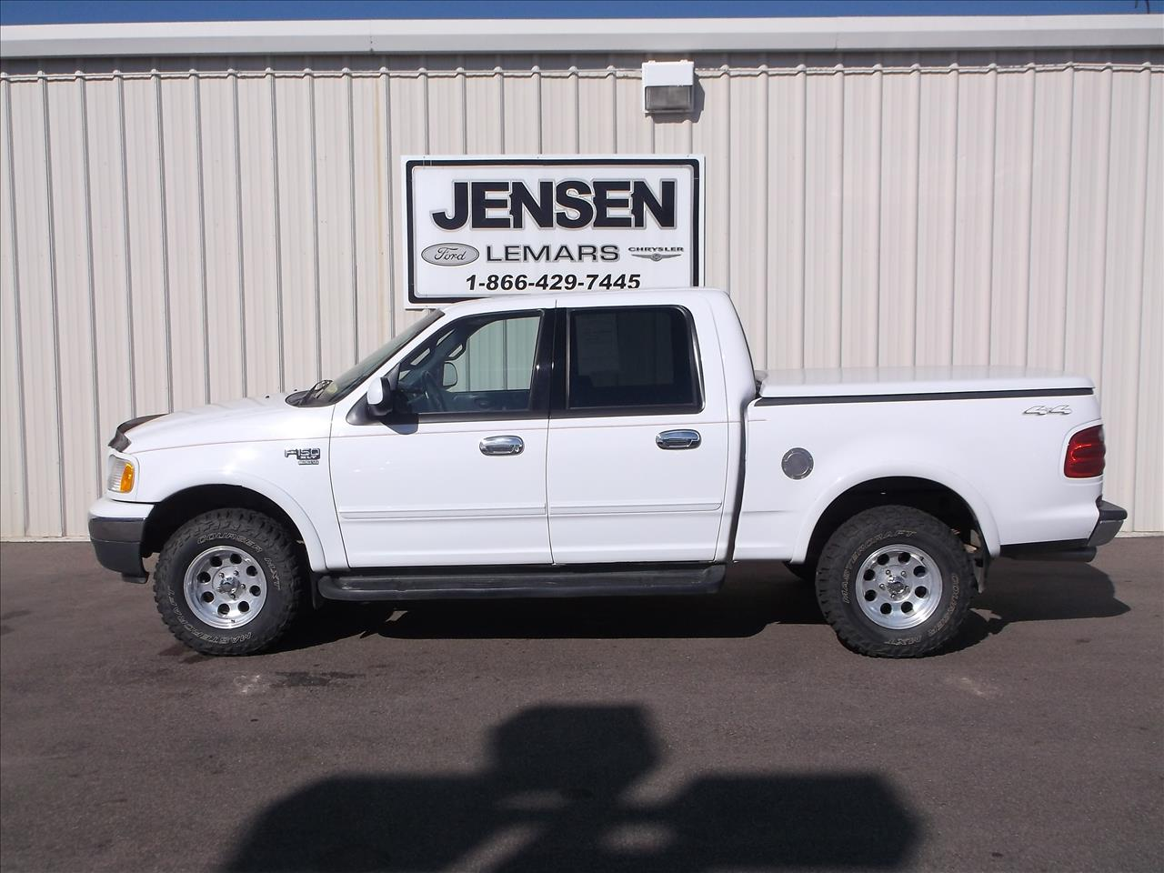 2001 ford f 150 4dr supercrew xlt 4wd styleside sb in le for Jensen motors sioux city