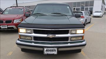 1999 Chevrolet Tahoe for sale in Sioux City, IA