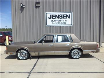 1989 lincoln town car for sale in red wing mn for Jensen motors sioux city