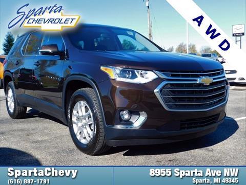 2018 Chevrolet Traverse for sale in Sparta, MI