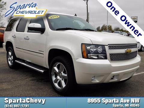 2013 Chevrolet Tahoe for sale in Sparta, MI