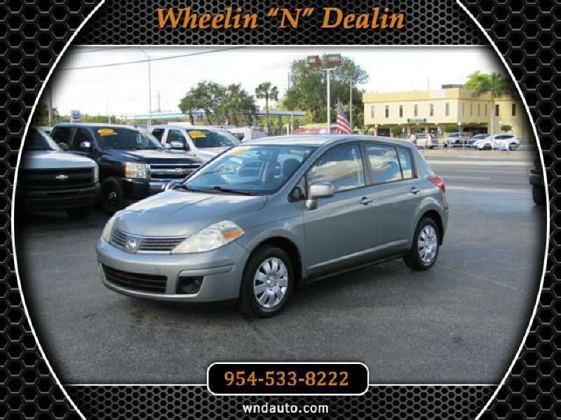 2007 nissan versa 1 8 s 4dr hatchback 1 8l i4 4a in oakland park fl wheelin n dealin. Black Bedroom Furniture Sets. Home Design Ideas