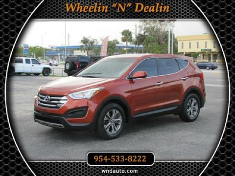 2013 Hyundai Santa Fe Sport for sale in Oakland Park, FL