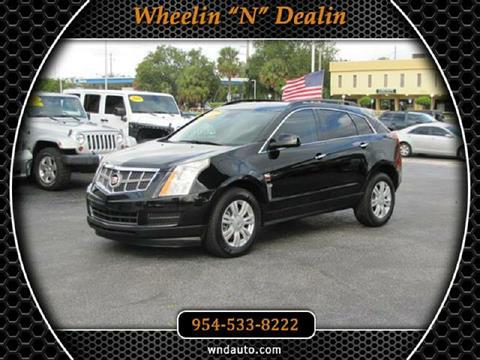 2010 Cadillac SRX for sale in Oakland Park, FL