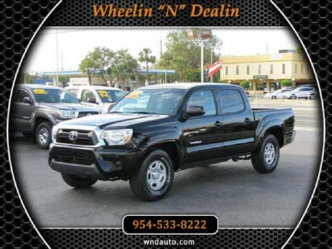 2015 Toyota Tacoma for sale in Oakland Park, FL