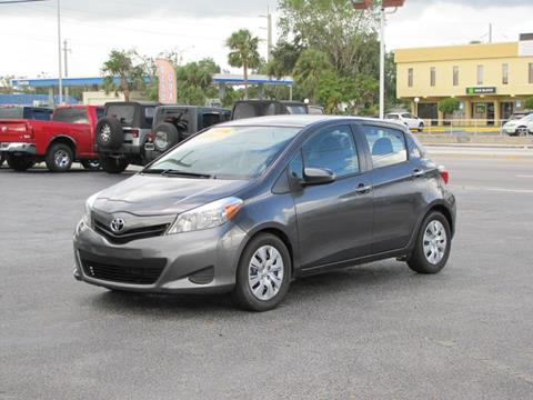 2014 Toyota Yaris for sale in Oakland Park, FL