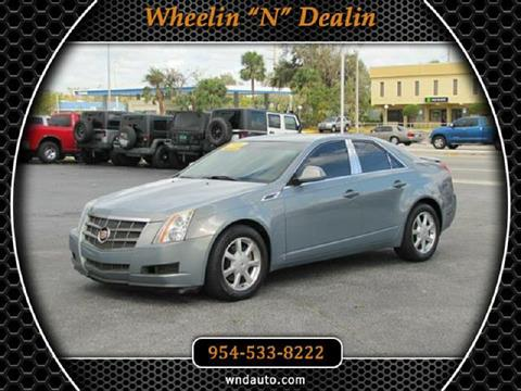2008 Cadillac CTS for sale in Oakland Park, FL