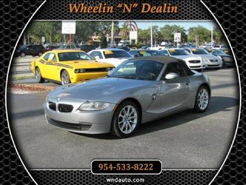2007 BMW Z4 for sale in Oakland Park, FL