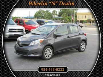2012 Toyota Yaris for sale in Oakland Park, FL