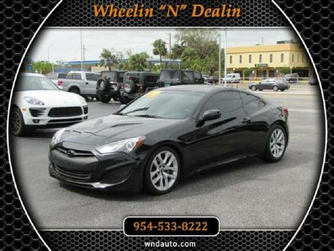 2013 Hyundai Genesis Coupe for sale in Oakland Park, FL