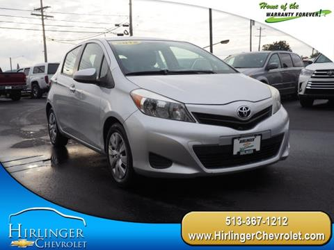 2012 Toyota Yaris for sale in Harrison, OH