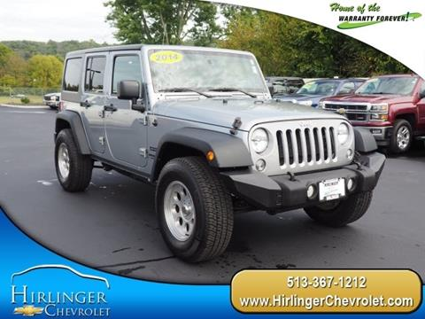 2014 Jeep Wrangler Unlimited for sale in Harrison, OH