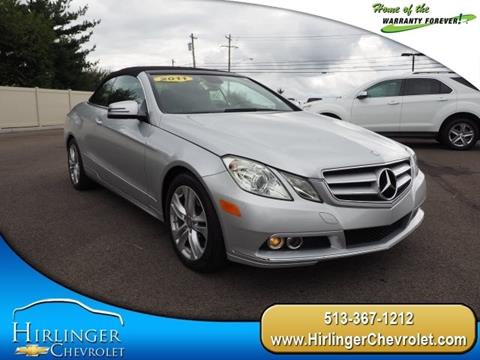 2011 Mercedes-Benz E-Class for sale in Harrison, OH