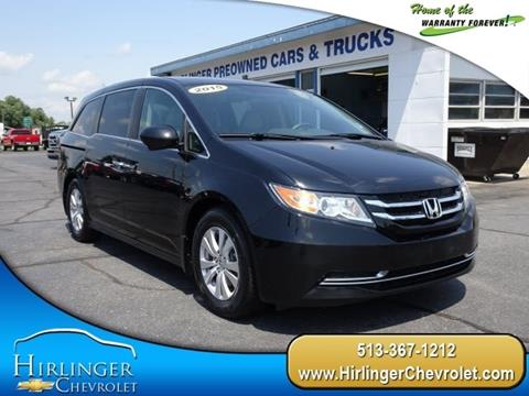 2015 Honda Odyssey for sale in Harrison, OH
