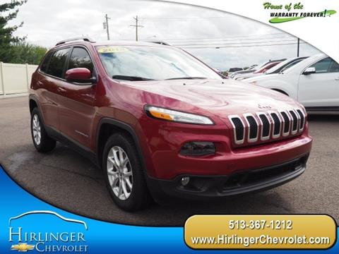 2015 Jeep Cherokee for sale in Harrison, OH