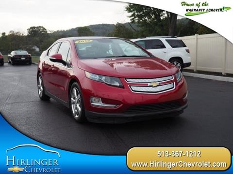 2012 Chevrolet Volt for sale in Harrison, OH