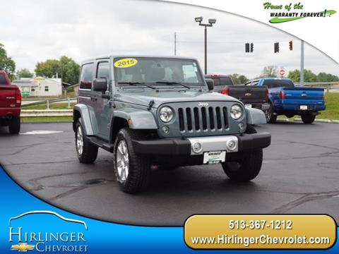 2015 Jeep Wrangler for sale in Harrison, OH