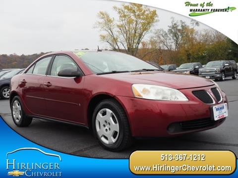 2008 Pontiac G6 for sale in Harrison, OH