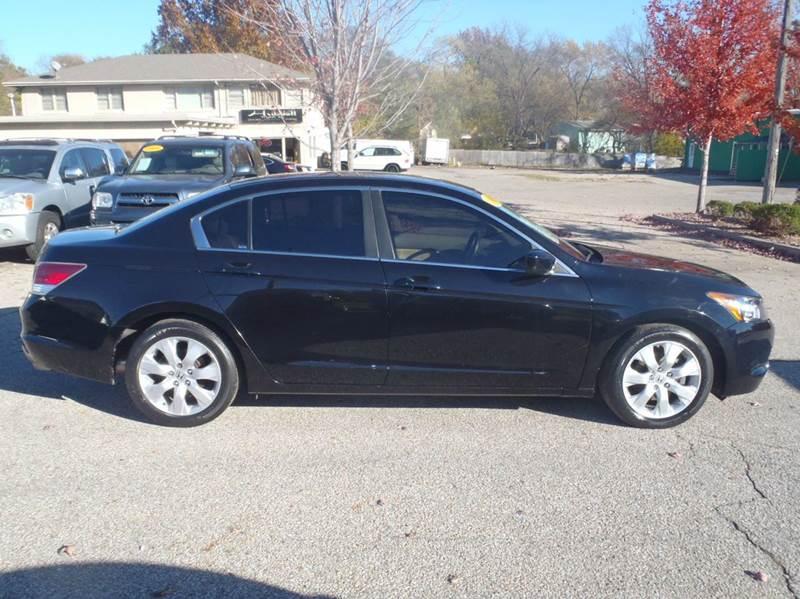 2008 Honda Accord EX-L w/Navi 4dr Sedan 5A w/Navi - Des Moines IA