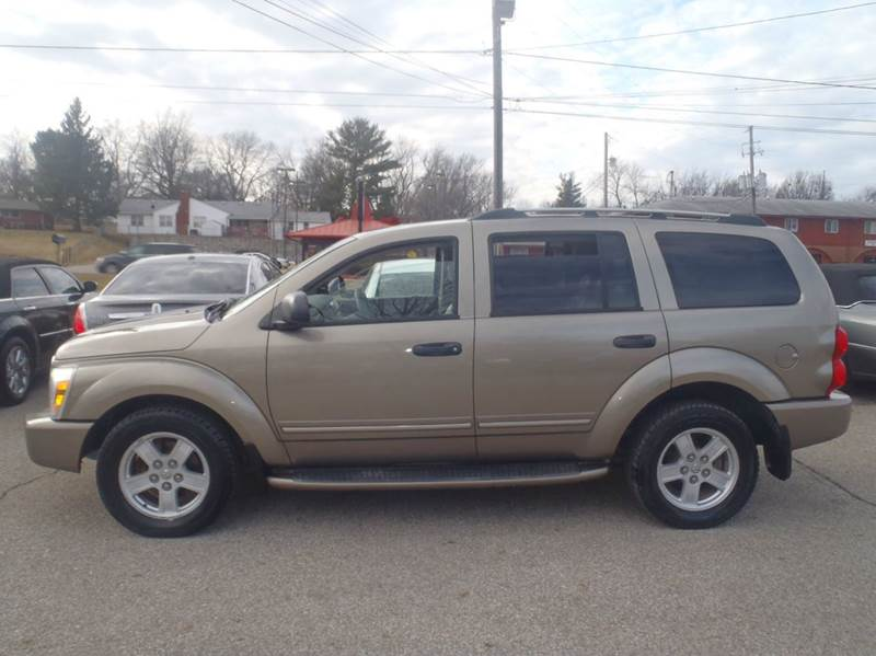 2006 Dodge Durango Limited 4dr SUV 4WD w/ Front, Rear and Third Row Head Airbags - Des Moines IA