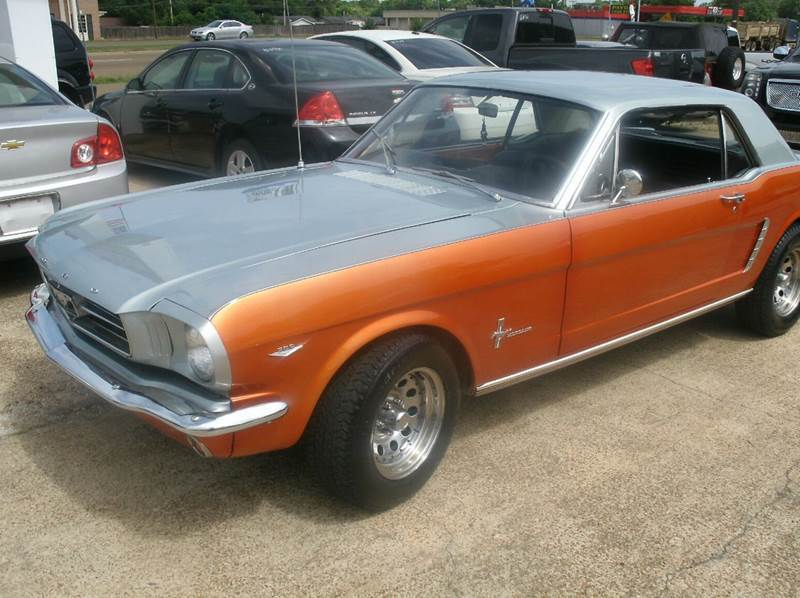 1965 FORD MUSTANG silverorange 1965 mustang v8 289 automatic great price for a great car thi