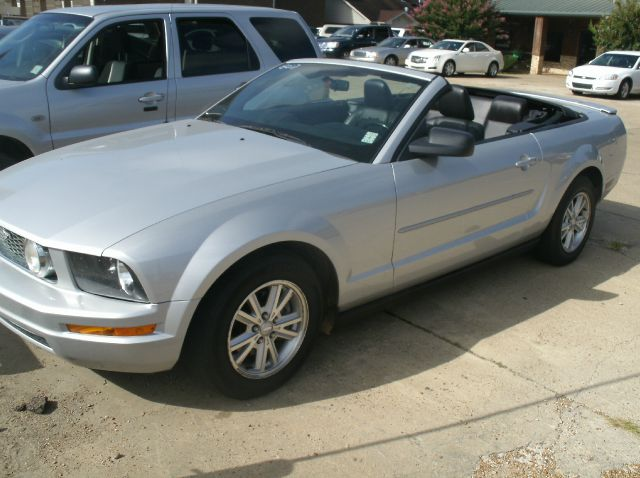2007 FORD MUSTANG V6 PREMIUM 2DR CONVERTIBLE silver adjustable lumbar support - power antenna typ
