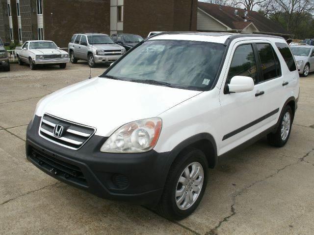 2006 HONDA CR-V EX AWD 4DR SUV white abs - 4-wheel air filtration airbag deactivation - occupan