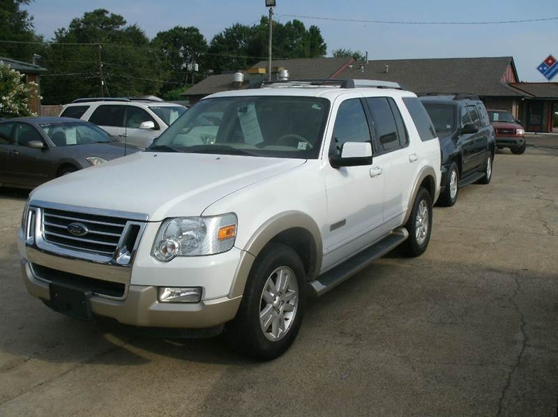 2006 FORD EXPLORER EDDIE BAUER 4DR SUV 4WD WV6 white 4wd type - on demand abs - 4-wheel airbag