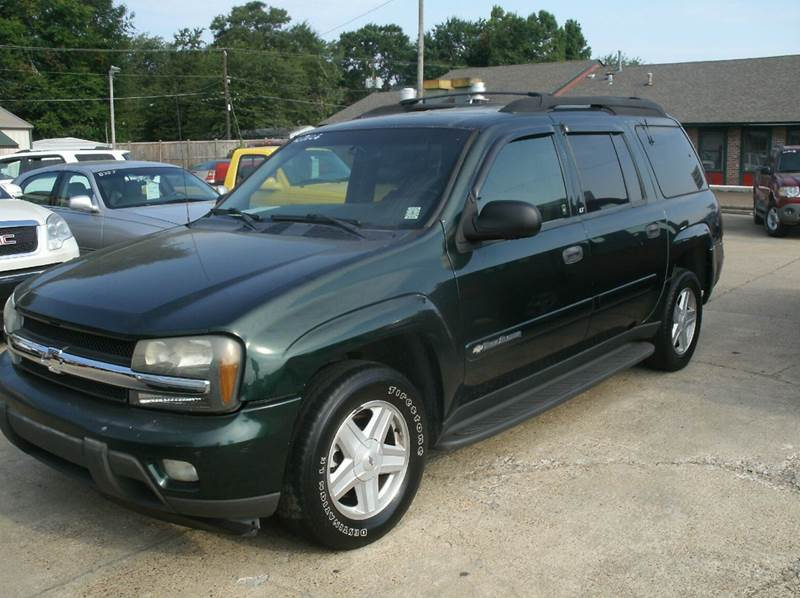 2003 CHEVROLET TRAILBLAZER EXT LT 4DR SUV green abs - 4-wheel anti-theft system - alarm axle ra