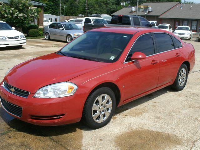 2008 CHEVROLET IMPALA LS SEDAN red 2-stage unlocking - remote adjustable lumbar support - manual