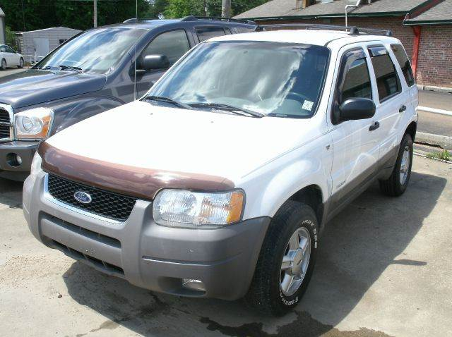 2001 FORD ESCAPE XLT 2WD 4DR SUV white abs - 4-wheel anti-theft system - alarm axle ratio - 29
