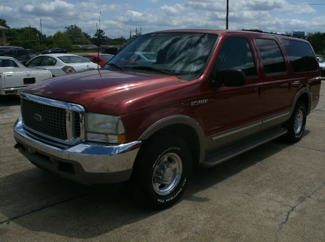 2002 FORD EXCURSION LIMITED 2WD 4DR SUV maroon abs - 4-wheel adjustable pedals - power anti-the