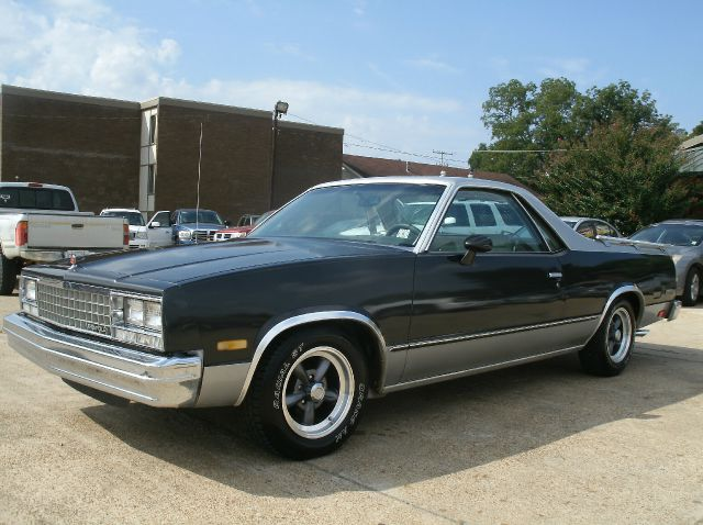1983 CHEVROLET EL CAMINO BASE 2DR STD STANDARD CAB gray i hate to sale my baby but its time for m