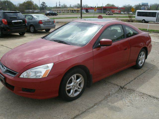 2006 HONDA ACCORD EX WLEATHER 2DR COUPE WLEATHER red abs - 4-wheel air filtration airbag deac