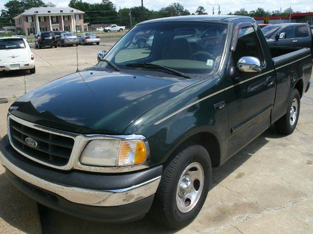 2001 FORD F-150 XLT 2DR REGULAR CAB 2WD STYLESID green abs - 4-wheel anti-theft system - alarm