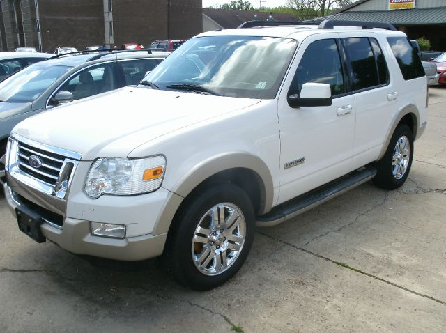 2008 FORD EXPLORER EDDIE BAUER 4X2 SUV white 2-stage unlocking abs - 4-wheel airbag deactivatio