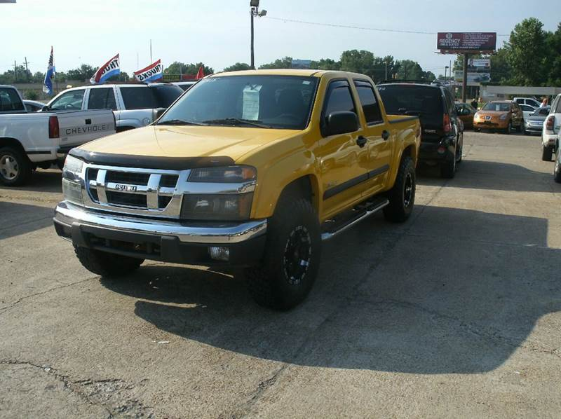 2007 ISUZU I-SERIES I-370 LS 4DR CREW CAB 4WD SB yellow 2-stage unlocking - remote 4wd type - pa