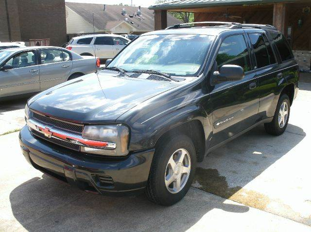 2004 CHEVROLET TRAILBLAZER LS 4DR SUV gray abs - 4-wheel axle ratio - 342 center console cloc