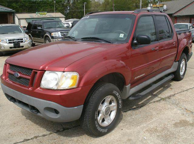 2001 FORD EXPLORER SPORT TRAC BASE 2WD 4DR CREW CAB maroon abs - 4-wheel anti-theft system - ala
