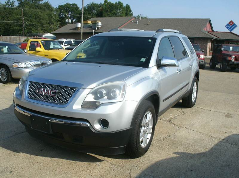 2010 GMC ACADIA SL 4DR SUV silver 2-stage unlocking - remote abs - 4-wheel airbag deactivation