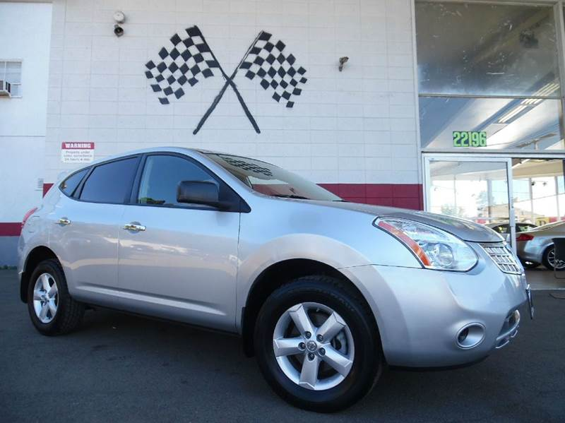 2010 NISSAN ROGUE S AWD 4DR CROSSOVER silver 2-stage unlocking 4wd type - on demand abs - 4-whe
