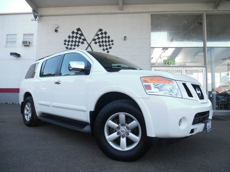 2010 NISSAN ARMADA SE 4X2 4DR SUV white vin 5n1aa0nd1an617596 this car is in great condition i