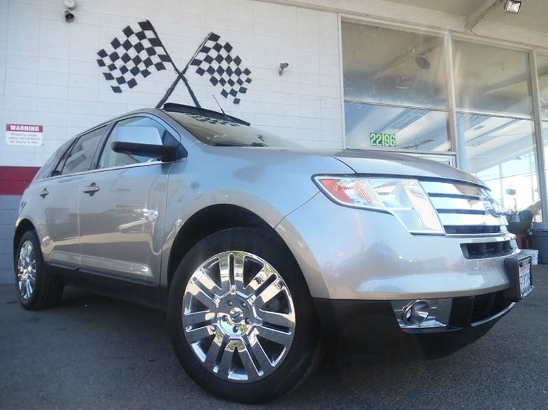 2008 FORD EDGE LIMITED 4DR SUV grey vin 2fmdk39c58ba94019 this limited ford edge has a panoramic