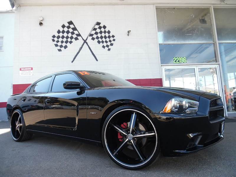 2012 DODGE CHARGER RT ROAD AND TRACK 4DR SEDAN black vin  2c3cdxct5ch107484  this is a super cle