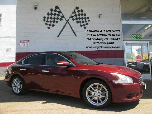 2009 NISSAN MAXIMA 35 SV 4DR SEDAN burgendy super clean nissan maxima beautiful color moon roof