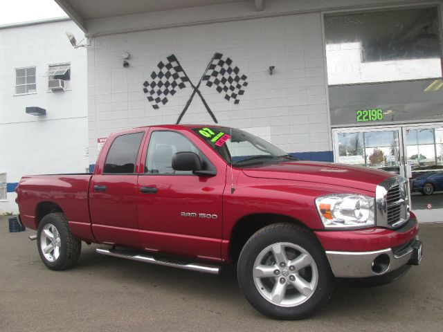 2007 DODGE RAM 1500 SLT QUAD CAB 2WD red abs brakesair conditioningalloy wheelsamfm radioanti